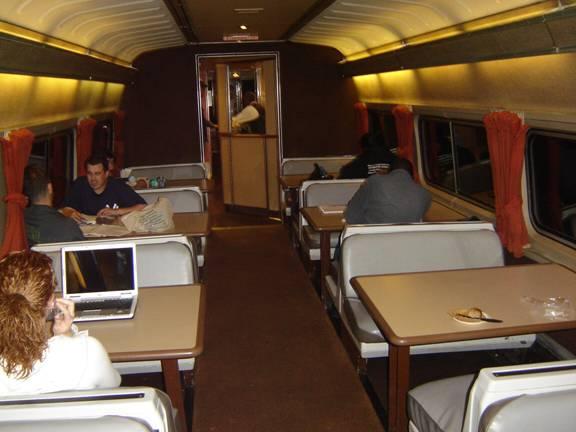 Amfleet 2 Lounge Interiors: