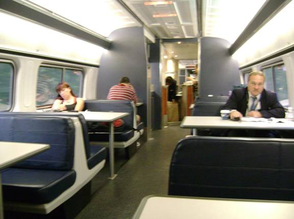 In The Future The Amfleet 2 Dinerlounge Cars Will Replace