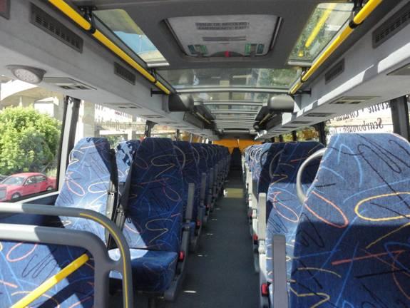 Double-decker Megabus Inside Related Keywords - Double ...
