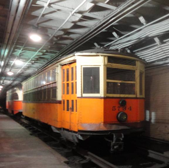 I Rode 3087 Back To Ashmont And Photographed It Before I