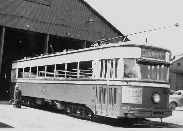 altoona logan valley electric railway car no 519 usedfor rail hauling built by russell car. Black Bedroom Furniture Sets. Home Design Ideas
