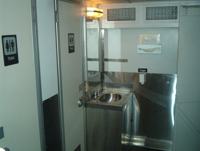 HiLevel Photos - Bathrooms on amtrak trains