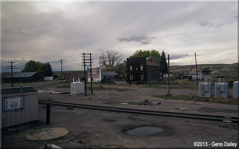 Now We Re In Lyman Wy The American Flag Mural On That