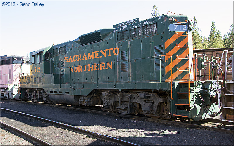 emd gp7 a visit to the western pacific railroad museum