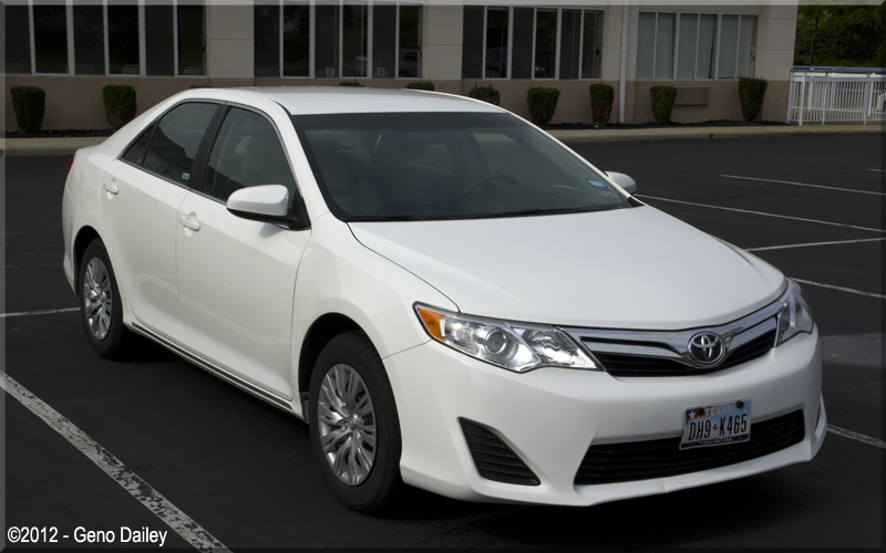 A 2012 Toyota Camry Le Which Was My Rental Car In Sandusky