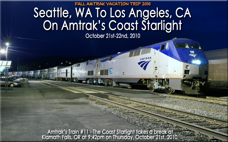 Image result for amtrak starlight coast