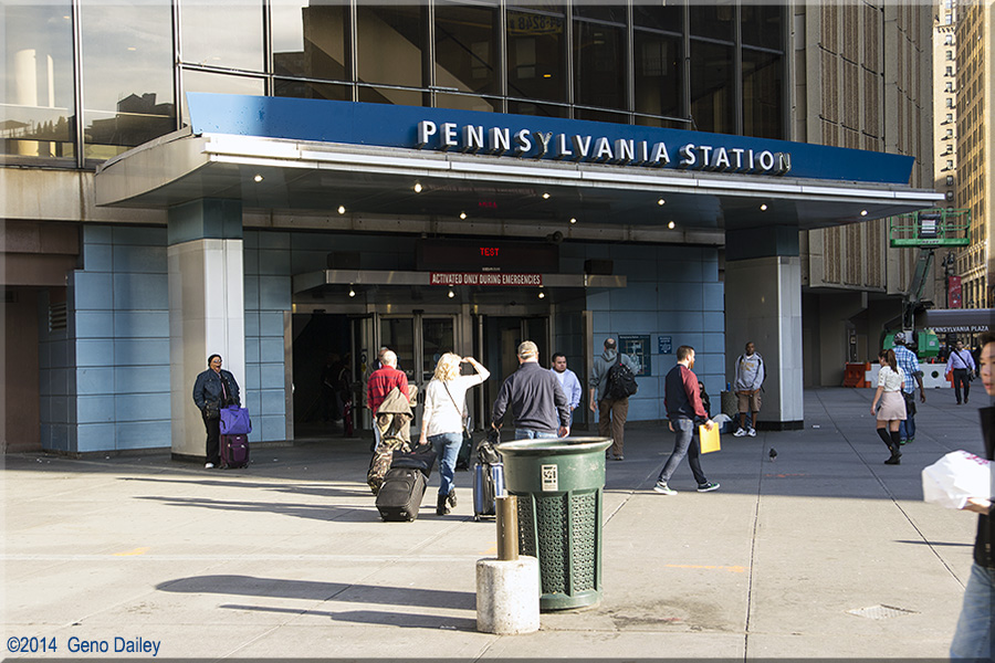 One Of The Entrances To Penn Station Which Is Today The Basement Underneath Madison Square Garden