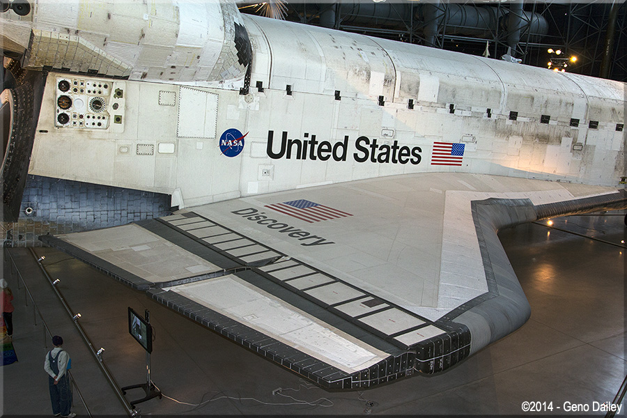 space shuttle wing area - photo #9