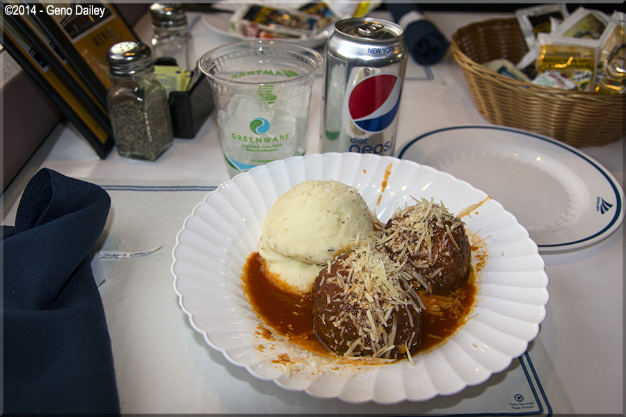 Amtrak S Marketplace Special For Lunch Turkey Meatballs