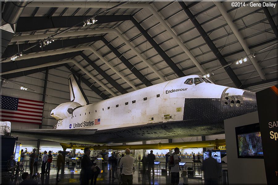 samuel oschin space shuttle endeavour display pavilion events - photo #15