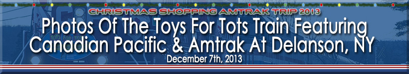 Toys For Tots Border : Arriving in delanson is the toys for tots train with