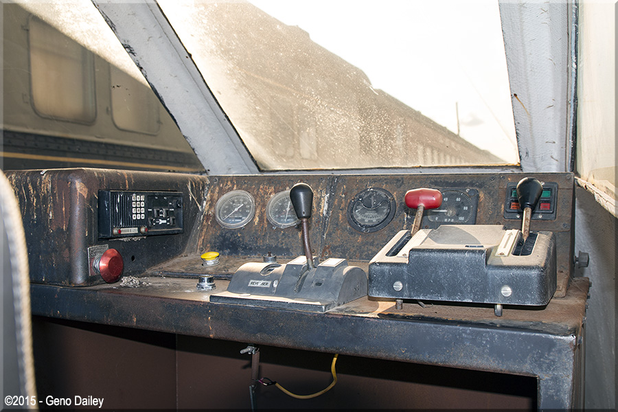 Used Cars Syracuse >> A view of the control stand inside the cab from the Turboliner.