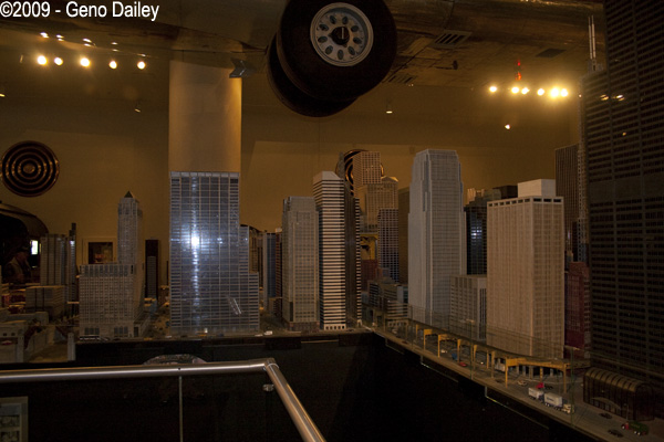 Some Of The Great Scale Models Of Buildings In The Layout
