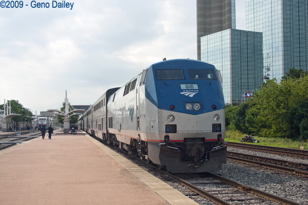 421 Texas Eagle. TX On Amtrak's Texas Eagle