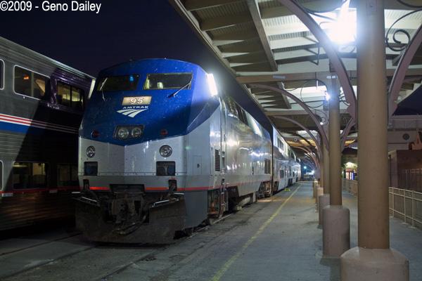 The Texas Eagle At Its Final Destination Of San Antonio