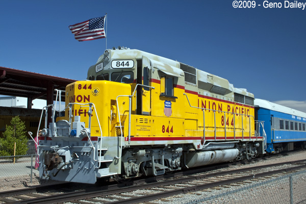 Former Union Pacific Gp30  844 Which Was The Locomotive