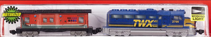 Industrial Freight Loco and Caboose