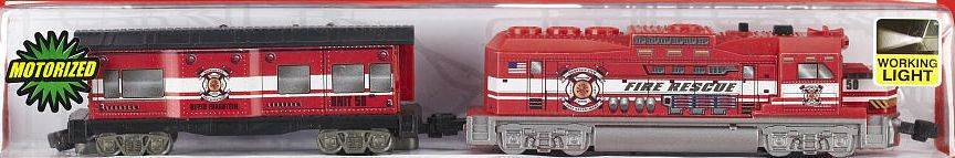 Rescue Freight Loco and Caboose