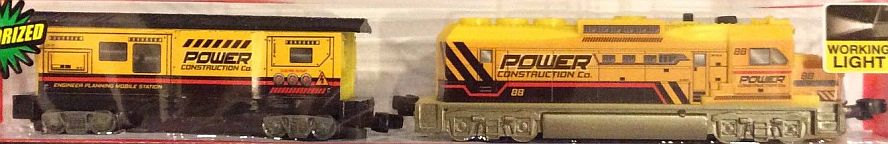 Construction Freight Loco and Caboose