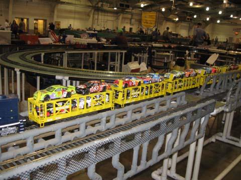 Lionel NASCAR Train Set with TrainSounds 7-11004 | eBay