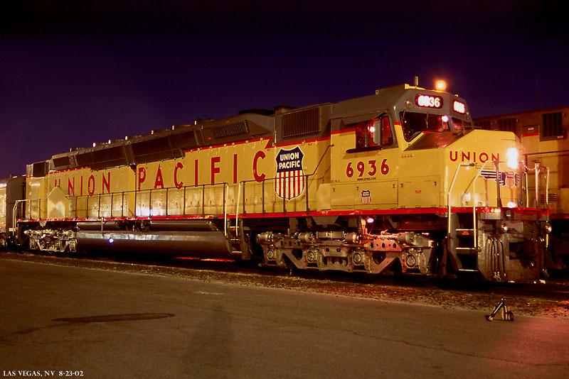 UP 6936 Las Vegas, NV .