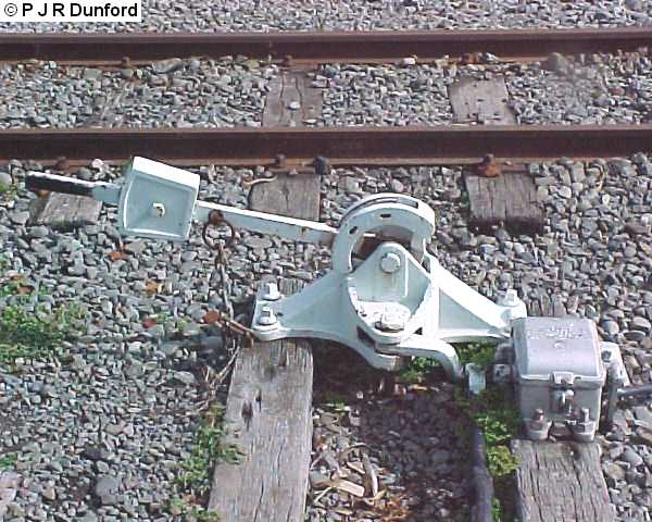 Lever Train Track : Weighted points lever with detector