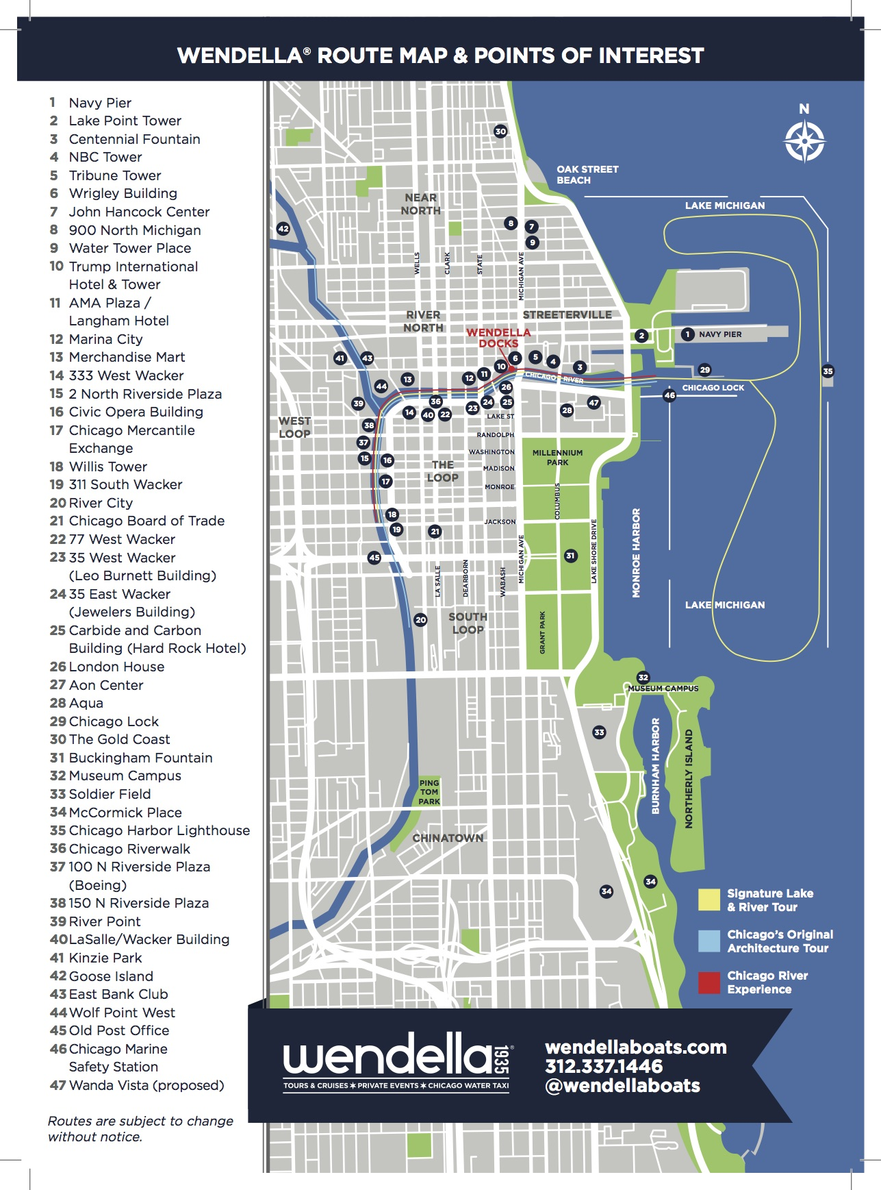 Chicago On America By Amtrak - Chicago map navy pier