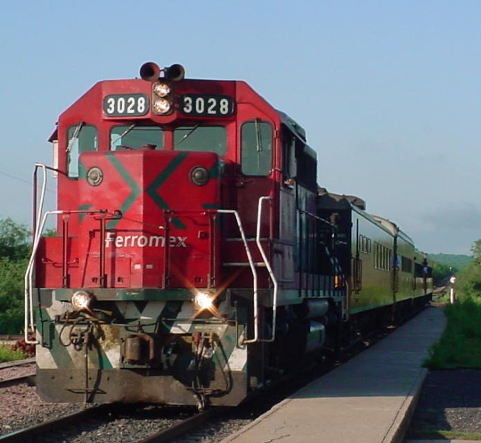 Recorrido en tren Barrancas del Cobre