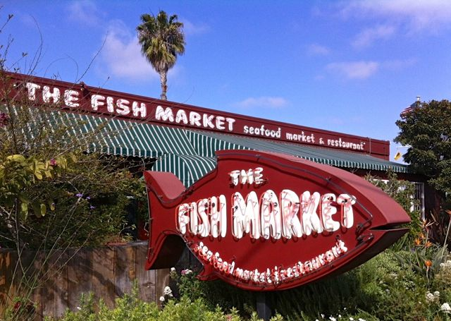 for The fish market del mar