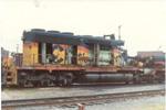 B&O SD40-2 7603