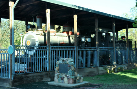 A Speeder Trip on the Amador Central Railroad 10/18/2014