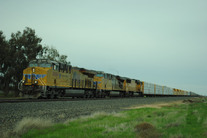 Union Pacific 8084 South In The Siding At Irrigosa