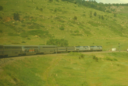 Home From La Plata Via The California Zephyr And San