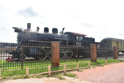 Wichita Falls Railroad Museum and Tex Rail 5/24/2019