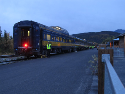 The End Of Our Train At Denali Park