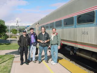 The Group Picture Was Taken At The Grover Beach Station In