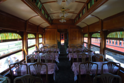 Three Views Of The Dining Car 105 Lee E Brenner