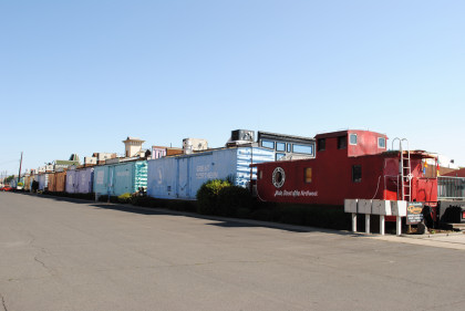 Rental Cars Yakima >> There is a line of freight cars beyond the caboose. That ...