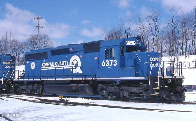 Image result for Conrail SD40-2