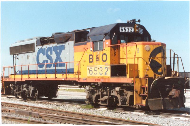 GP40-2 6532