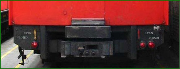 Coupling And Uncoupling : This is a view of the front dmc c stock