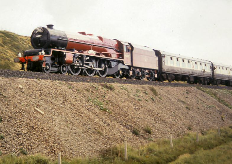 "West Cumbrian Steam Charters 197693 46203 ""princess"