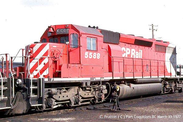 SD40-2 Locomotive