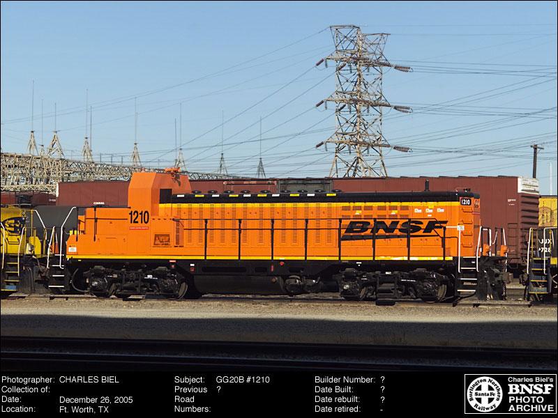 BNSF Railway LNG, Hybrid, & Genset Locomotives