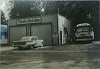 Front view of the CCL Bay Beach garage, Summer 1959.