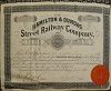 H&D Preferred Stock Certificate, issued to John Riddell on July 17 1880
