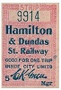 Ticket used on H&D.