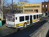 HSR 0707 departing from the Hamilton GO Centre onto John St, March 19, 2015