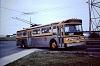 HSR 768 entering Bell Manor loop, May 1974.