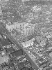 Aerial photo of Main St, October 1945